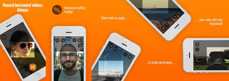Horizon: App para grabar videos horizontales sin importar la posición del smartphone - horizon-app