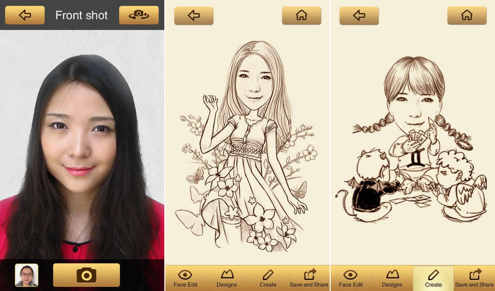 momentcam crear caricaturas app MomentCam, convierte tus fotos en caricaturas con esta app gratis para iOS y Android