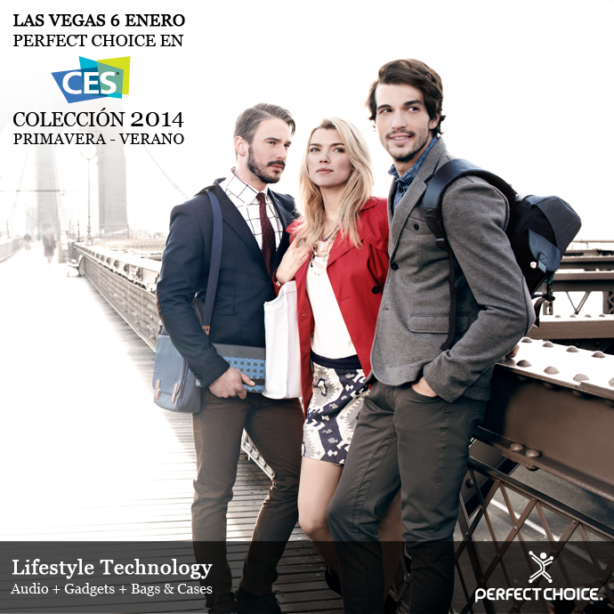 Accesorios de Perfect Choice combinan deporte y moda en el CES 2014 - perfect-choice-ces-20143