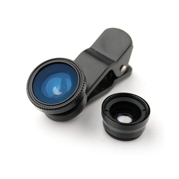 Fisheye, Macro y Wide, lentes intercambiables para tu smartphone [Reseña] - photojojo-the-three-in-one-clip-phone-lens