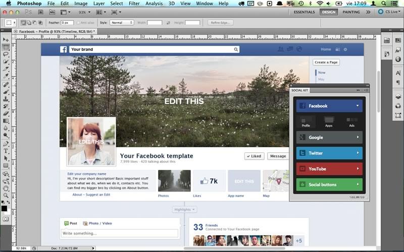 Social Kit, Plugin de photoshop para crear diseños en redes sociales - plugin-photoshop-socialkit