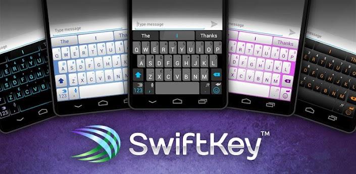 5 teclados para Android que te harán escribir mejor y más rápido - swiftkey-android