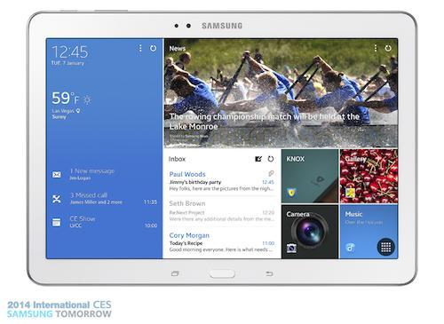 tabpro11 Samsung presenta sus nuevas tablets Galaxy Pro
