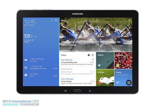 Samsung presenta sus nuevas tablets Galaxy Pro - tabpro12