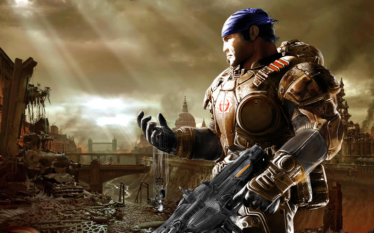 Fondos de pantalla Gamers para descargar gratis - wallpapers-gears-of-war