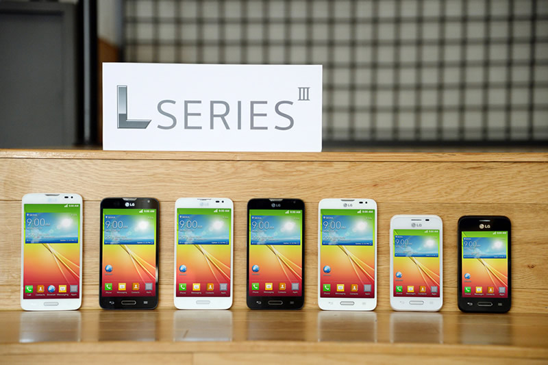 Smartphones LG Serie L III son presentados en MWC 2014 - LG-Serie-L-III