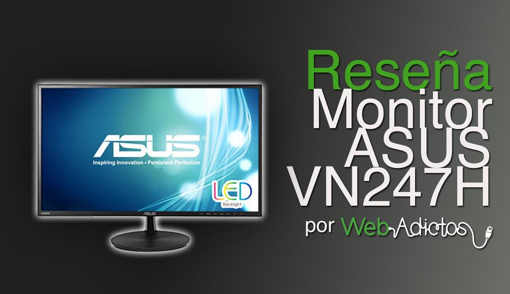 Monitor ASUS VN247H, ideal para las multipantallas [Reseña]