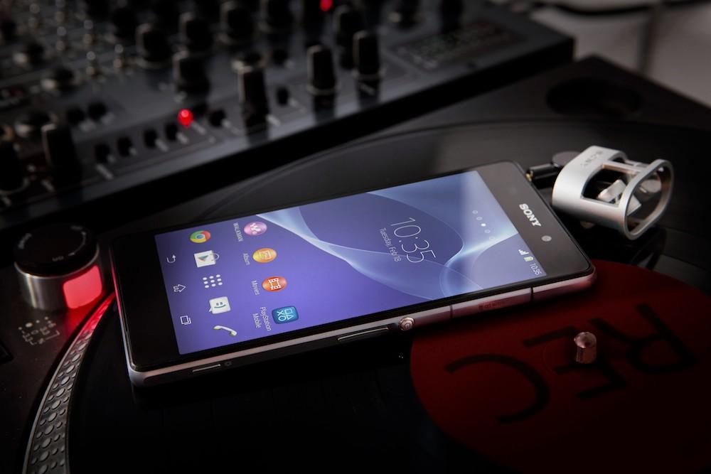 Sony Xperia Z2 es presentado oficialmente con grabación de video a 4K - Sony-Xperia-z2