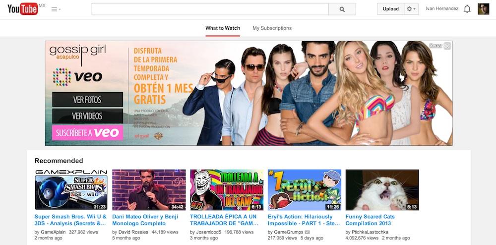 YouTube cambia de nueva cuenta su diseño - YouTube-aspecto