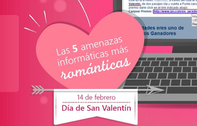 El top 5 de amenazas informáticas el día de San Valentín - amenazas-informaticas-san-valentin