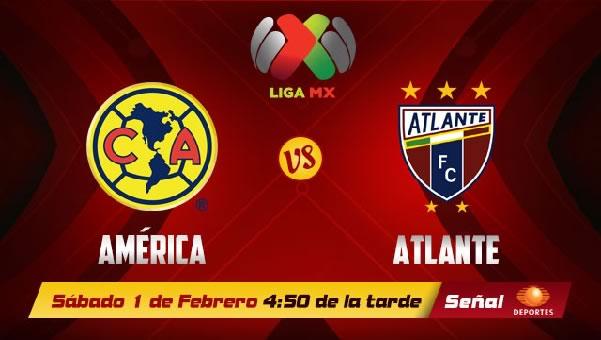 América vs Atlante en vivo, Liga MX Clausura 2014 - america-atlante-en-vivo-2014