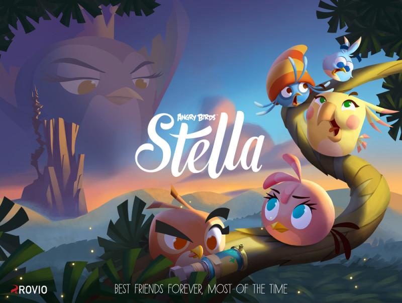 angry birds stella 800x603 Angry Birds Stella: juego de Rovio dedicado al público femenino
