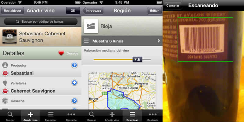 Aplicaciones de vinos para iPhone - apps-vinos-iphone