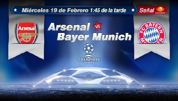 Arsenal vs Bayern Munich en vivo, Champions League 2014 - bayern-vs-arsenal-en-vivo-2014