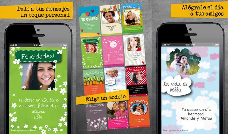 3 apps para enviar postales de San Valentín desde el iPhone - crear-postales-iphone