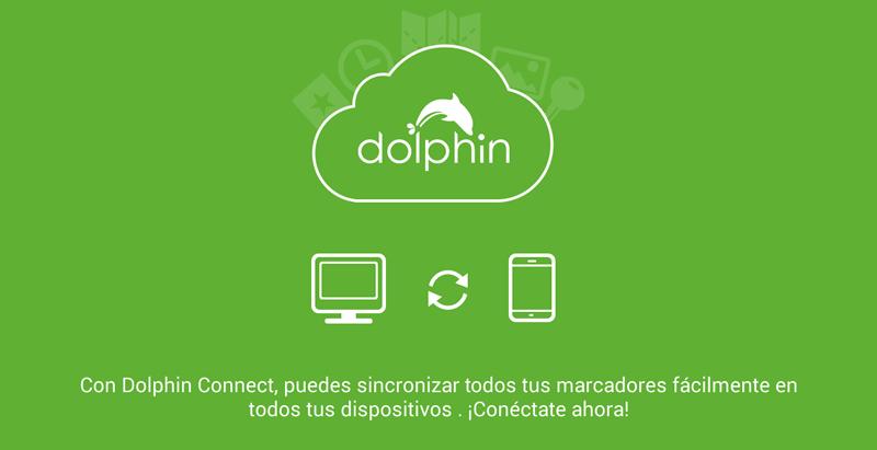 Compartir páginas web del smartphone a la computadora o viceversa - dolphin-browser-connect