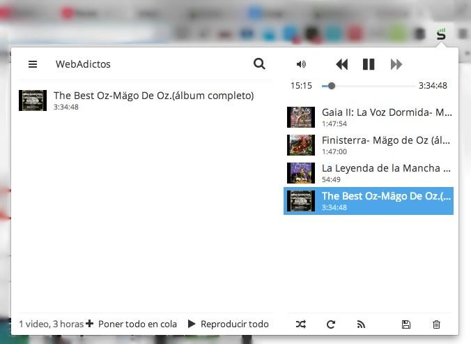 Escuchar música de YouTube desde Chrome con Streamus - escuchar-musica-streamus