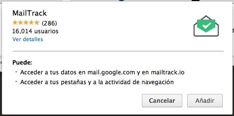 MailTrack, una extensión de Chrome que te indica cuando leen tus correos - instalar-mailtrack-1