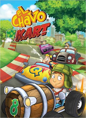 El Chavo Kart para Xbox 360 y PS3 disponible a partir de este 21 de Febrero - juego-el-chavo-kart