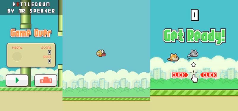 3 formas de jugar Flappy Bird online - jugar-flappy-bird