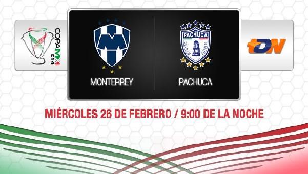 monterrey vs pachuca en vivo copa mx Monterrey vs Pachuca en vivo, Copa MX 2014