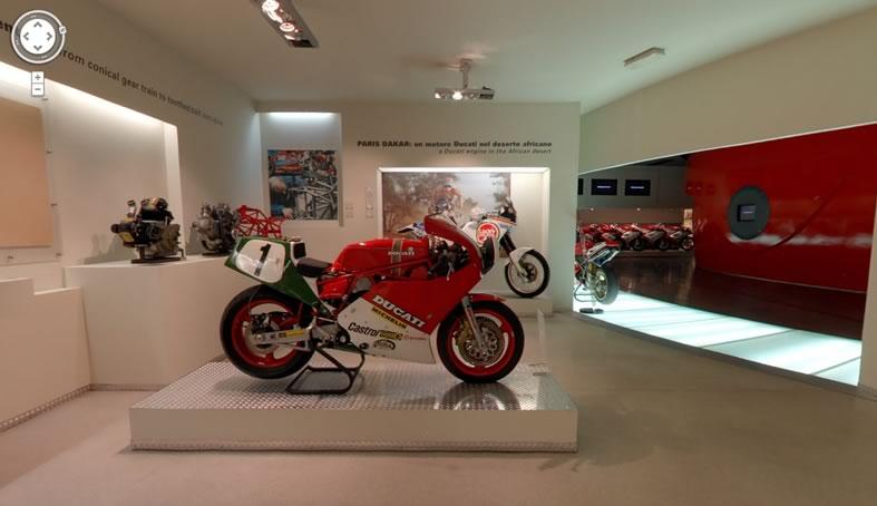 Visita el museo Ducati gracias a Google Street View - museo-ducati-google