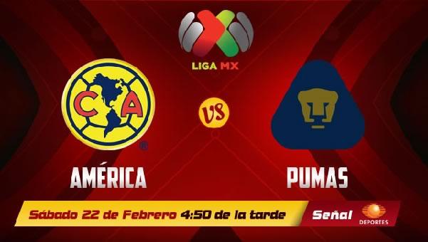 América vs Pumas en vivo, Jornada 8 Clausura 2014 - pumas-vs-america-en-vivo-2014