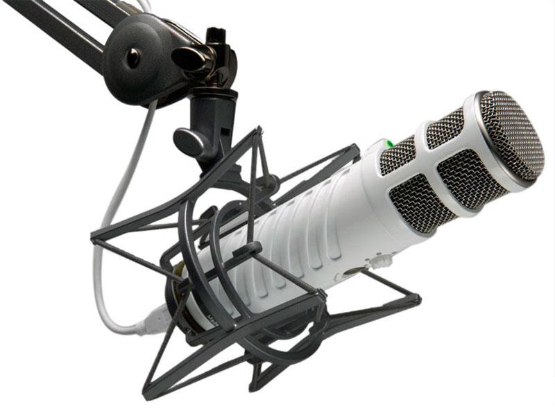 5 mejores micrófonos USB para hacer podcasts - rode-podcaster