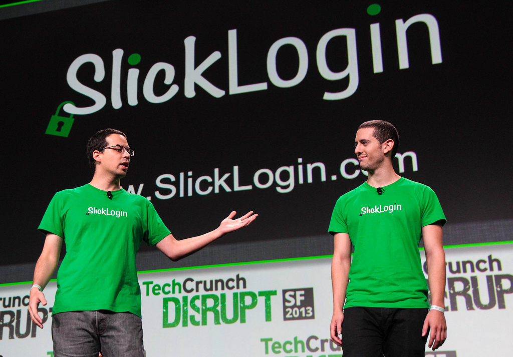 Google compra Slicklogin, una empresa de reconocimiento de audio - slicklogin-founders-techcrunch-disrupt