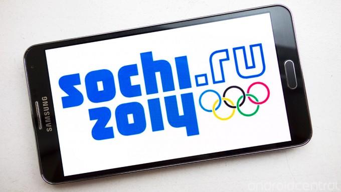 Samsung prohíbe a los atletas usar un iPhone en los Juegos Olímpicos de Sochi 2014 - sochi-note3