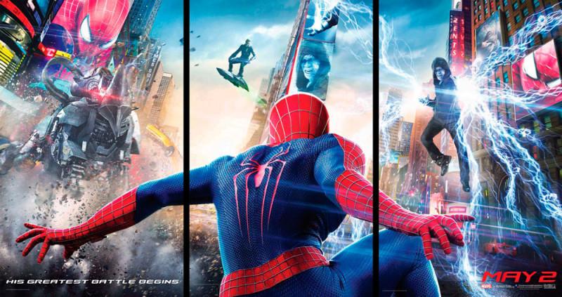 Nuevo tráiler de El Sorprendente Hombre Araña 2 - spiderman-2-800x423