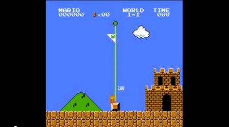 Así es como se pasa Super Mario Bros con la menor cantidad de puntos posible