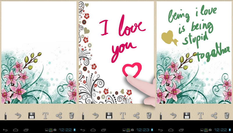 Enviar tarjetas de San Valentín en Android con estas apps - tarjetas-san-valentin-en-android
