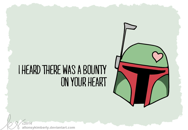 Tarjetas de Star Wars para San Valentín listas para imprimir - tarjetas-star-wars-san-valentin-1