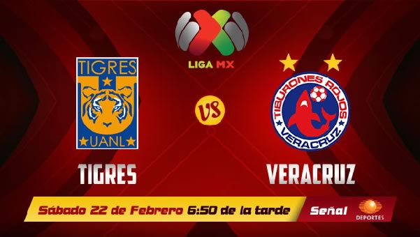Tigres vs Veracruz en vivo, Jornada 8 Clausura 2014 - tigres-vs-veracruz-2014-en-vivo