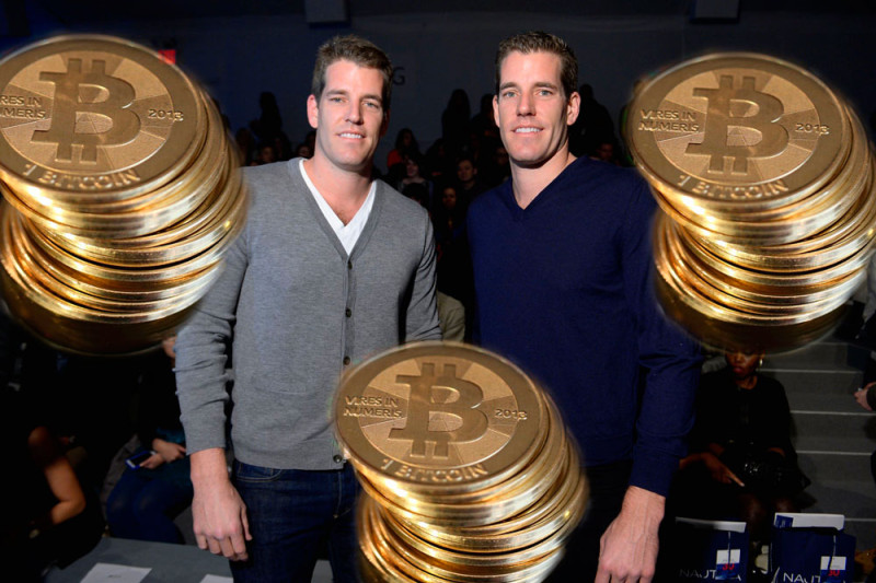 Hermanos Winklevoss presentan Winkdex, índice de precios para Bitcoins - winklevoss-bitcoins-800x533