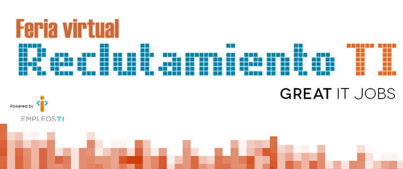 Feria virtual de Empleos de TI México - BannerFeria-800x336