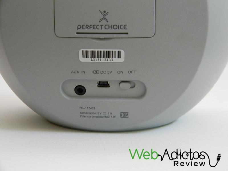 Bocina portátil Bluetooth Moon de Perfect Choice, movilidad y buen sonido a un precio accesible [Reseña] - Bluetooth-bocina-moon-perfect-choice-11