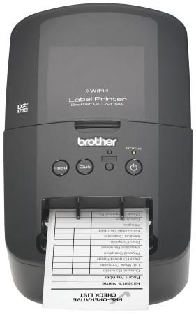 Brother presenta Nueva Impresora de Etiquetas Inalambrica - QL-720nw-frontsample-281x450