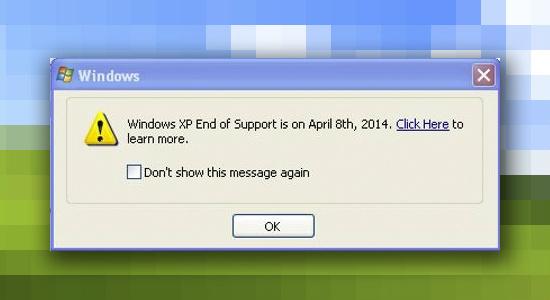 El fin de Windows XP se acerca ¿Y a hora qué hago? [Infografía] - Windows-xp-soporte-notificacion