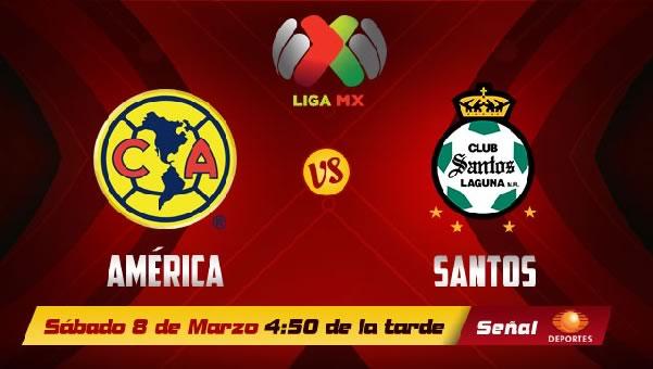 América vs Santos en vivo, Jornada 10 Clausura 2014 - america-vs-santos-en-vivo