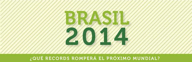 El mundial de Brasil 2014 romperá todos los récords en redes sociales - brasil-2014-infografia