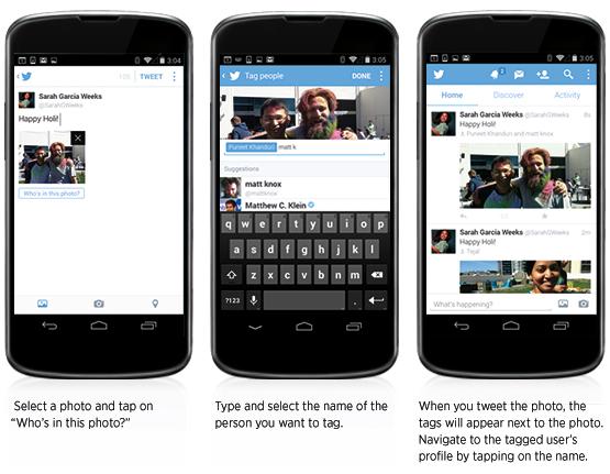 Ya puedes etiquetar gente en fotos de Twitter usando la app de Android y iPhone - etiquetar-fotos-twitter