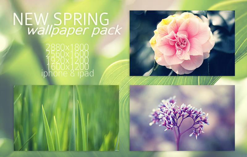 5 packs de fondos de Primavera para tu computadora, celular o tablet - fondos-primavera-new-spring