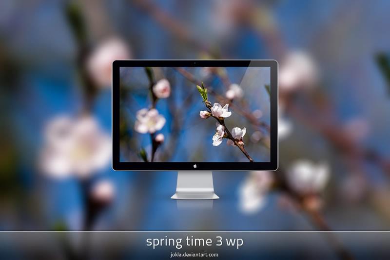 5 packs de fondos de Primavera para tu computadora, celular o tablet - fondos-primavera-spring-time