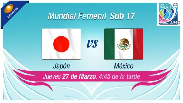 México vs Japón en vivo, Cuartos de final Mundial Femenil Sub 17 - mexico-vs-japon-sub-17-femenil