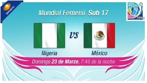México vs Nigeria en vivo, Mundial femenil Sub 17 - mexico-vs-nigeria-en-vivo-femenil