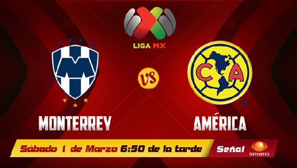 América vs Monterrey en vivo, Jornada 9 Clausura 2014 - monterrey-vs-america-2014-en-vivo