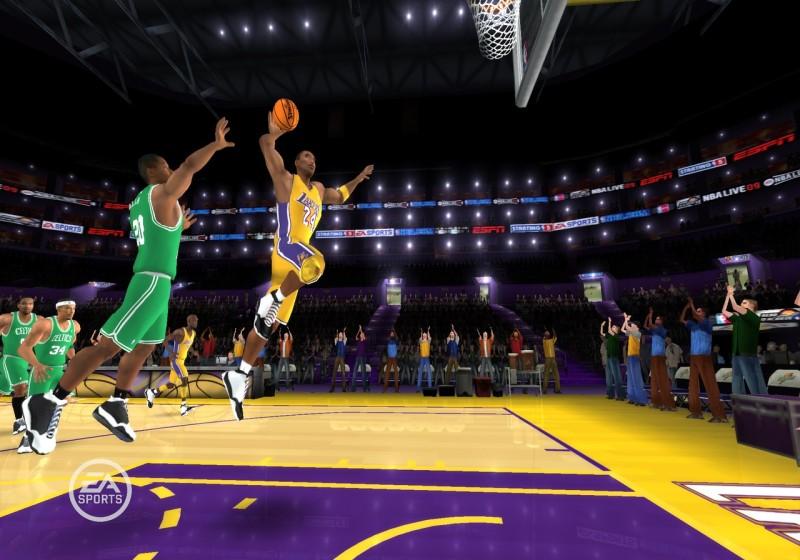 Los 5 mejores videojuegos de basketball - nba-live-800x560