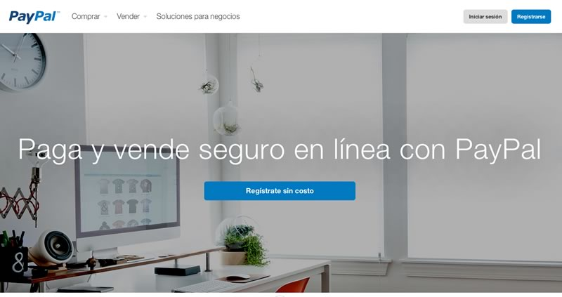 Paypal lanza nueva página para México - paypal-mexico